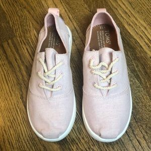 TOMS Kids Lumin Blossom Slub Chambray New